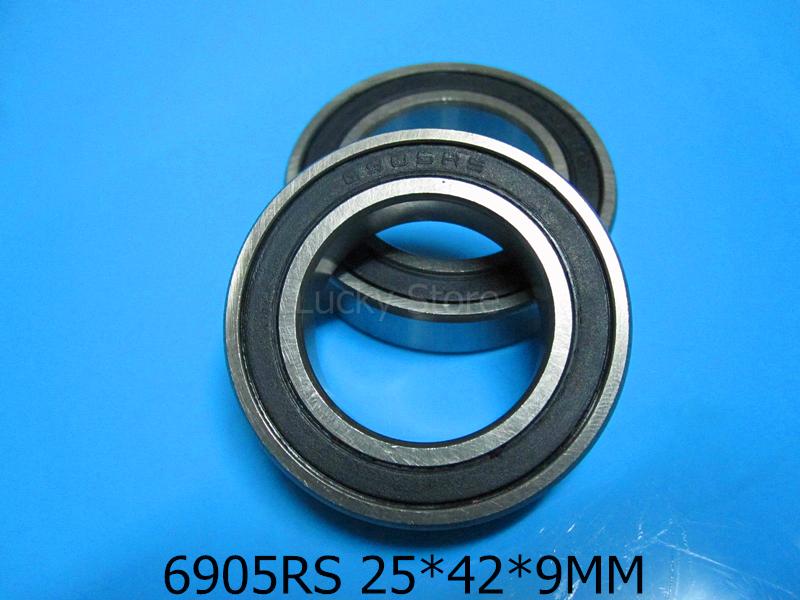 [해외]6905RS 1PC 베어링 6905 6905RS 25 * 42 * 9 mm 크롬 강 깊은 홈 베어링 고무 밀폐 베어링 얇은 벽 베어링/6905RS 1PC bearing 6905 6905RS 25*42*9 mm chrome steel deep groove bear
