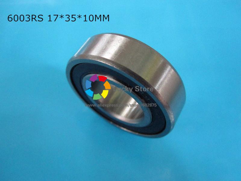 [해외]6003RS 1 조각 베어링 6003 6003RS 17 * 35 * 10mm 크롬 강 깊은 홈 베어링/6003RS 1Piece bearing 6003 6003RS 17*35*10mm chrome steel deep groove bearing