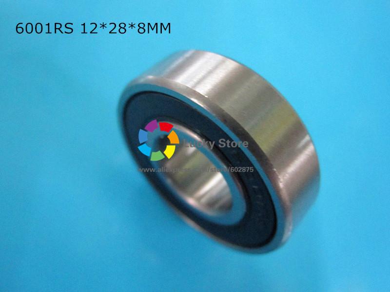 [해외]6001RS 1 조각 베어링 6001 6001RS 12 * 28 * 8mm 크롬 강 깊은 홈 베어링/6001RS 1Piece bearing  6001 6001RS 12*28*8mm chrome steel deep groove bearing