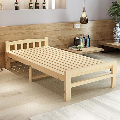 [해외]어린이 침대 어린이 가구 단단한 접는 싱글 침대 소나무 어린이 단순 침대 120 * 195 * 36cm 전체 판매 Hot 새로운 2017/Children Beds Children Furniture solid wood folding single bed pine c