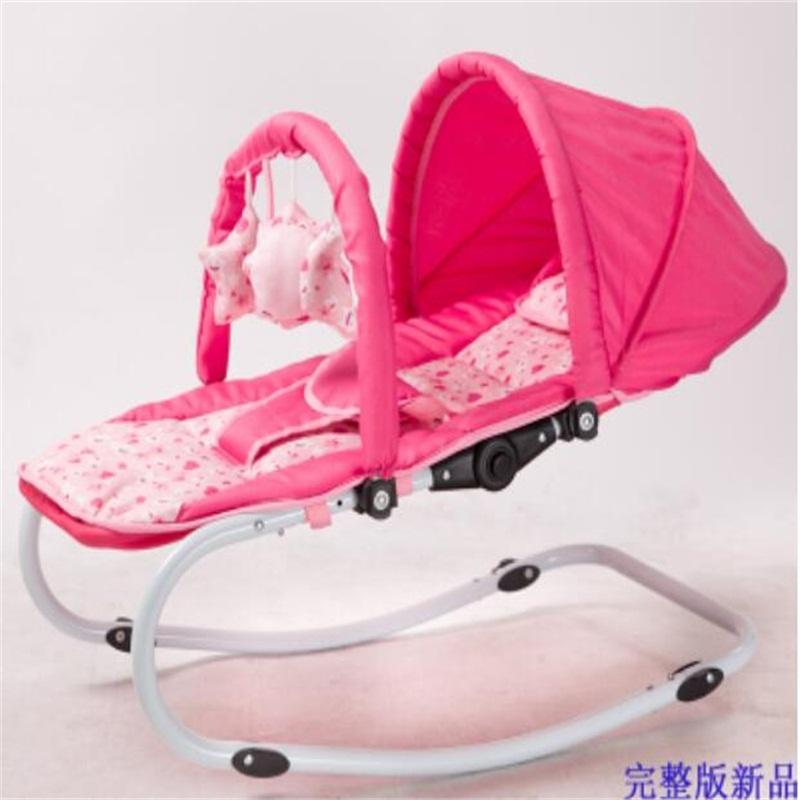 [해외]다용도 휴대용 안전 베이비 락킹 침대 데크 의자 요람 거치대/Multipurpose Portable Safety Baby Rocking Bed Deck chair The cradle