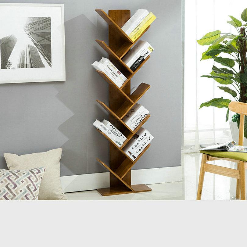 [해외]본사 BK01 현대 오피스 리빙 홈 Tawny 컬러 책장 책장 책 CD 디스플레이 스토리지 랙 선반 키즈 학생 Wood Bookrack/HQ BK01 Modern Office Living Home Tawny Color Bookshelf Bookcase Books