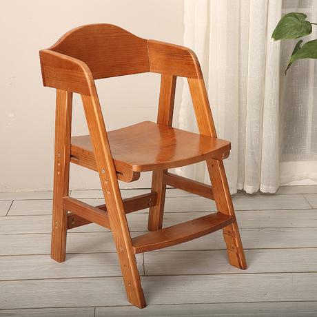 [해외]어린이 의자 어린이 가구 간단한 단단한 나무 어린이 & 조절 의자 2018 핫 등받이 새로운 45 * 52 * 76cm/Children chairs Children Furniture Simple solid wood children&s adjustable