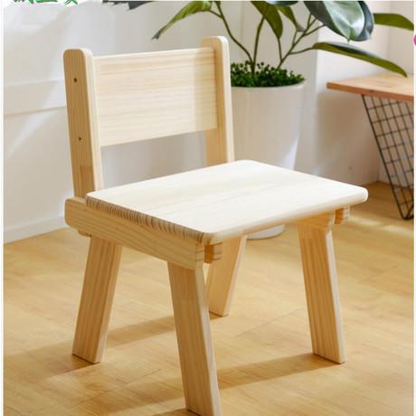 [해외]어린이 의자 아동 가구 단단한 의자 등받이 의자 뉴질랜드 소나무 어린이 의자 핫 새 38 * 28 * 53cm 2018/Children chairs Children Furniture solid wood Backrest Chair New Zealand Pine C