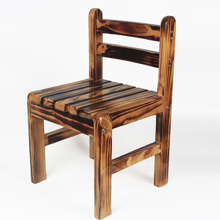 [해외]어린이 의자 어린이 가구 간단한 탄탄 고체 나무 의자 품질 2018 Hot 등 받침 30 * 29.5 * 53cm 새로운/Children chairs Children Furniture Simple Carbonized solid wood chairs quality