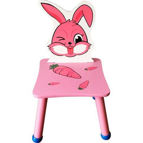 [해외]어린이 의자 어린이 가구 간단한 토끼 만화 단단한 의자 의자 2018 핫 등받이 새로운 좋은 가격/Children chairs Children Furniture Simple rabbit cartoon solid wood chairs quality 2018 who