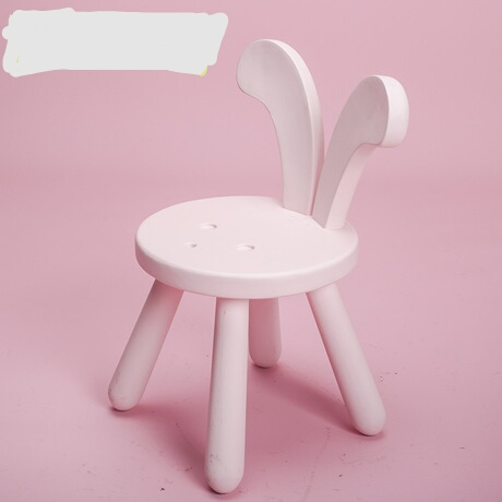 [해외]어린이 의자 아동 가구 단단한 토끼 의자 뉴질랜드 소나무 어린이 의자 26 * 26 * 45cm 핫 새로운/Children chairs Children Furniture solid wood Cute Rabbit Chair New Zealand Pine Child