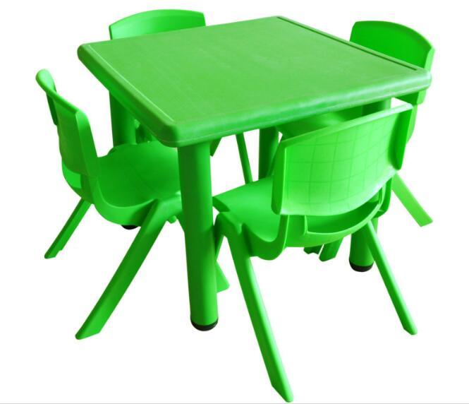 [해외]60X45cm 고품질 사각 아이들 테이블 유치원 책상 의자 1-2 년간 아이들을 위해/60X45cm high quality Square Children Tables kindergarten deskChairs for 1-2 years Children