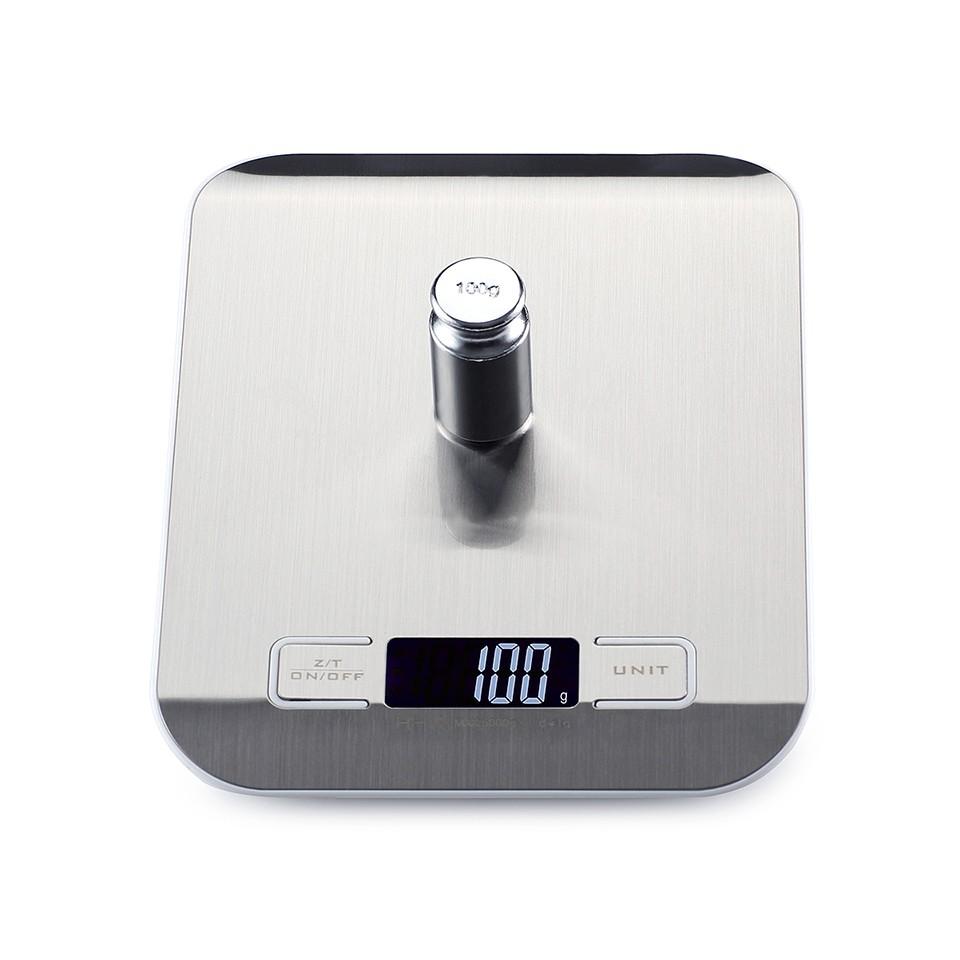 [해외]10kgx1g 스테인레스 스틸 주방 저울 전자 저울 디지털 주얼리 저울 스마트 LCD Mi 저울 저울 고정밀/10kgx1g Stainless Steel Kitchen Scale Electronic Balance  Digital Jewelry Scales Smar