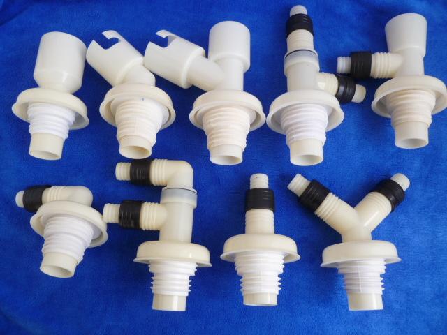[해외]세탁기 바닥 드레인 공동 물 탈취제 티 팔꿈치 50 40 파이프 듀얼 듀얼 물 파이프 PVC 파이프/Washing machine floor drain joint water deodorant tee elbow 50 40 pipe dual dual water pip