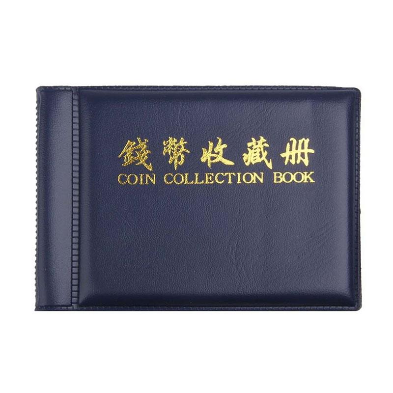 [해외]2018 트렌디 무작위로 60 개의 개구부 동전 앨범 동전 주머니 포켓 앨범 돈을 모으는 페니 스토리지 휴대용 V3940/2018 Trendy Randomly 60 Openings Coins Album Coin Holder Pocket Album Book Col