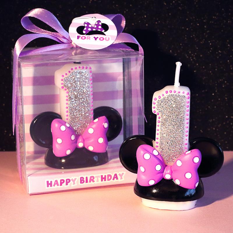 <span style=''>[해외]0-9 창조적 인 만화 디지털 케이크 캔들 생일 핑크 무연 예술 캔들 케이크 장식 ..</span>