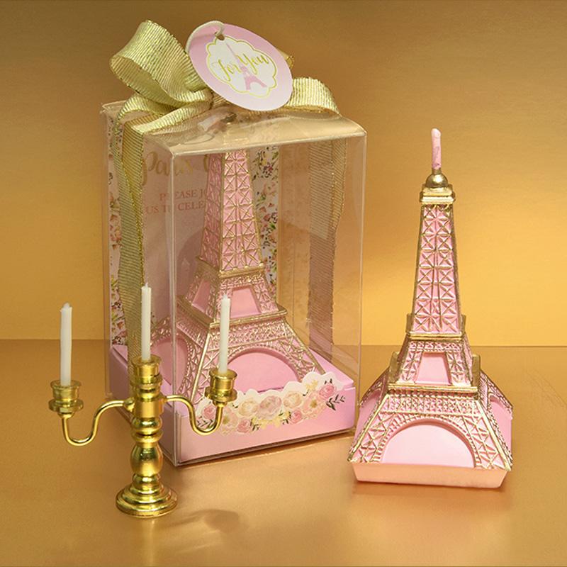 [해외]크리 에이 티브 미니 에펠 탑 생일 캔들 로맨틱 발렌타인 데이 & 파티 축하 아트 케익 캔들 파티 웨딩 키즈 생일 선물/Creative MIni Eiffel Tower Birthday Candle Romantic Valentine &s Day Pleadi