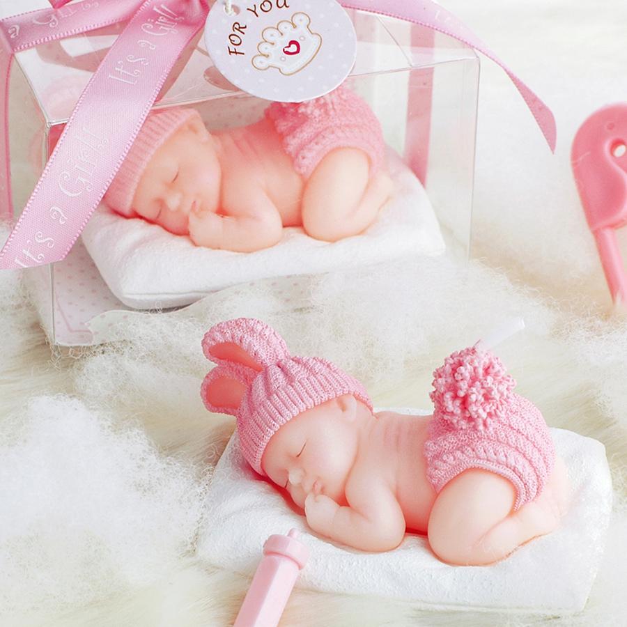 [해외]1 PC 크리 에이 티브 수면 베이비 셰이프 아트 케이크 캔들 베이비 - 자동차 어린이를미니 사랑스러운 아기 양초 웨딩 파티 장식 새로운/1 PC Creative Sleep Baby Shape Art Cake Candle Baby-car for Children