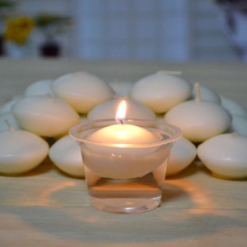 [해외]10 개/몫 로맨틱 플로팅 양초 웨딩 파티 용품 장식 홈 장식 diy 양초