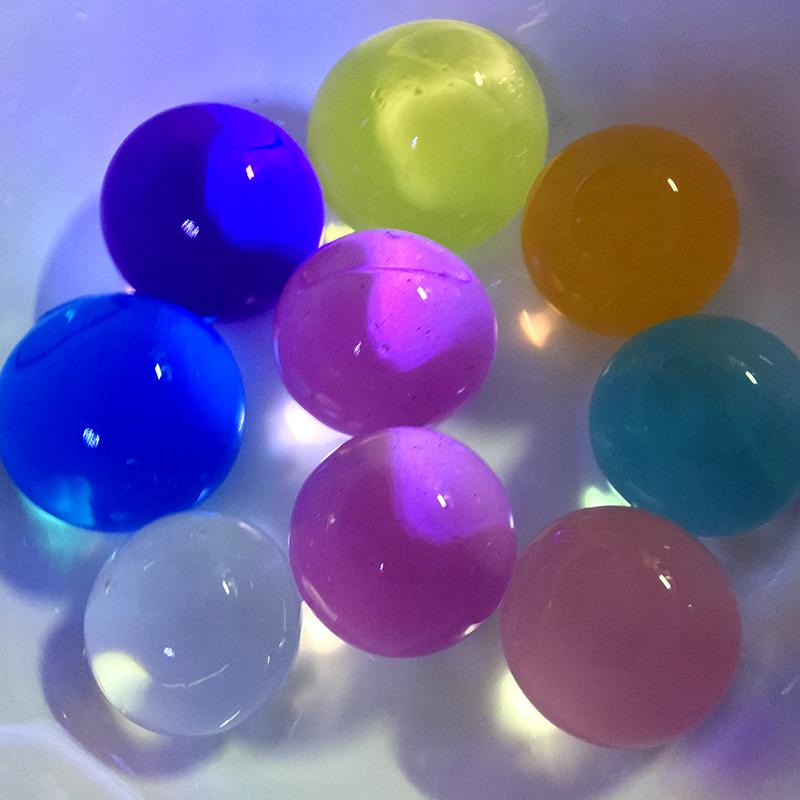 [해외]50pcs 대형 10-12mm 식물 크리스탈 토양 머드 비즈 성장 하이드로 겔 매직 젤 젤리 볼 Orbiz 성장 홈 인테리어 키즈 토이/50pcs Large 10-12mm Plant Crystal Soil Mud Grow Beads Hydrogel Magic G