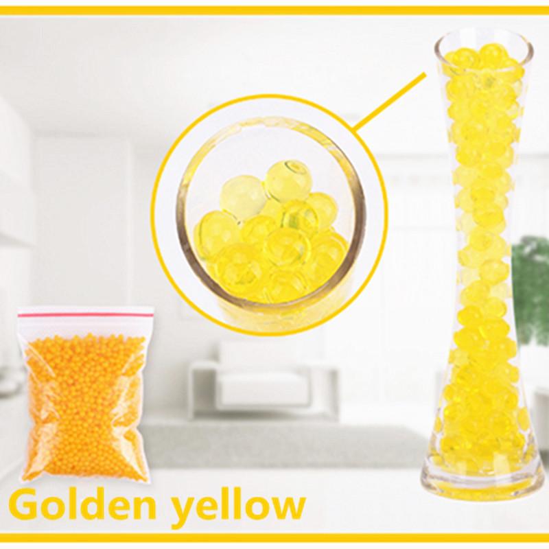 [해외]1000 개 골드 옐로우 크리스탈 볼 2.5mm to 3mm 크리스탈 토양 / 수정 구슬 / 바다 아기 성장 10-20 밀리미터 하이드로 겔 비즈 물 홀더/1000 pcs Gold yellow Crystal ball 2.5mm to 3mm Crystal soil