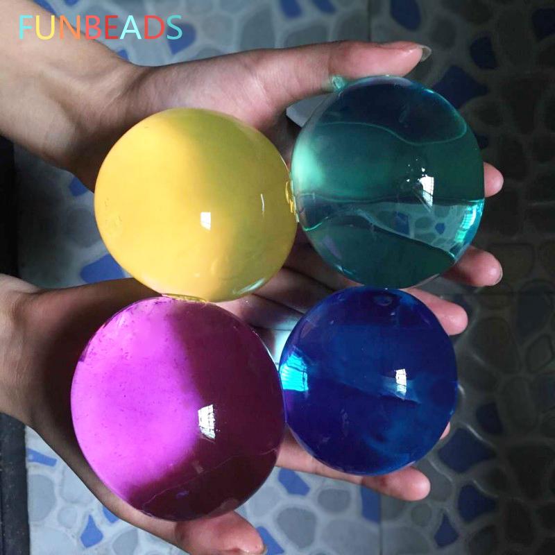 [해외]25pcs / lot 45-60mm 진주 모양 하이드로 젤 궤도 성장하는 물 볼 여러 가지 빛깔의 Orbizi 물 구슬 Orbiz 볼 SJ13-15mm/25pcs/lot 45-60mm Pearl Shape Hydrogel Gel Orbits Growing Wat