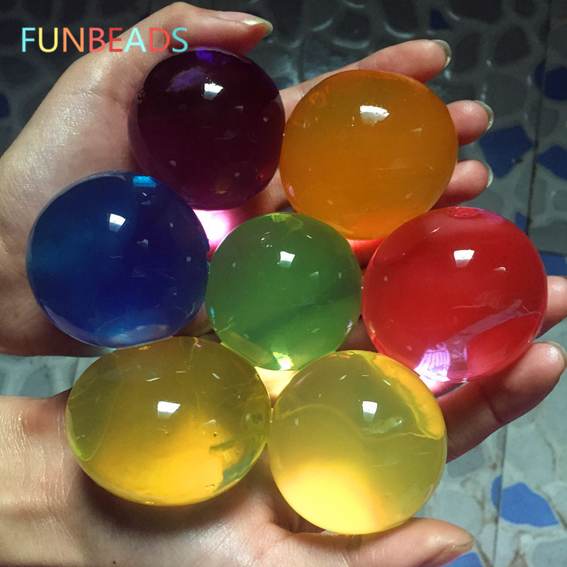 [해외]50pcs / lot 볼 모양 10-12 mm 대형 히드로 겔 젤 성장 Orbita 물 볼 식물에 대 한 물 구슬 홈 장식 SJ012/50pcs/lot Ball Shape 10-12mm Large Hydrogel Gel Magic Growing Orbita Wa