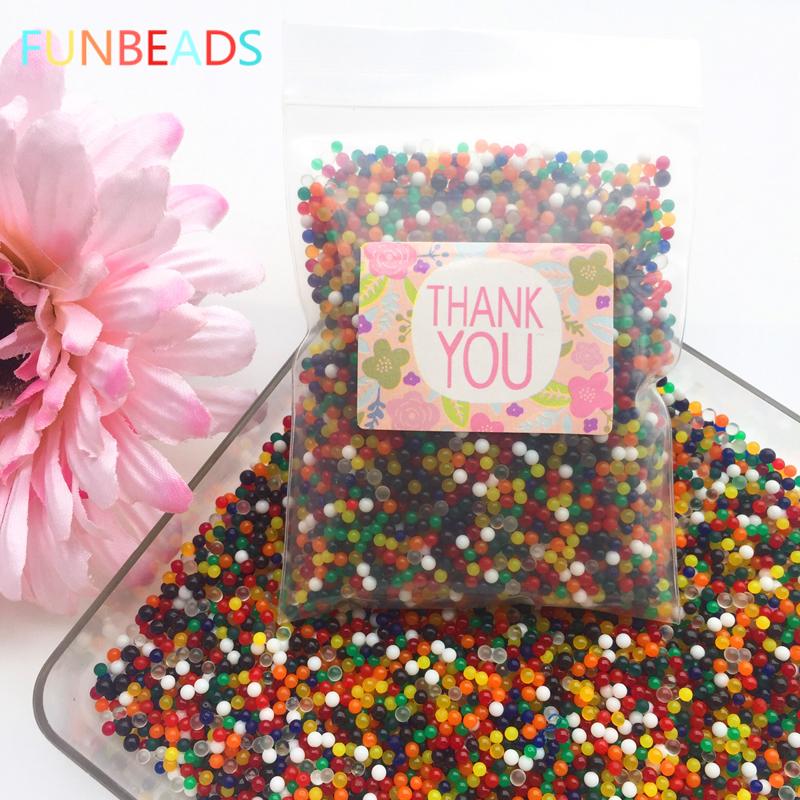 [해외]5000pcs / lot 12 색 하이드로 젤 Orbiz 물 비즈 홈 / 웨딩 장식 크리스탈 토양 흙 성장 물 공/5000pcs/lot 12 Colors Hydrogel Gel Orbiz Water Beads Home/Wedding Decoration Cryst