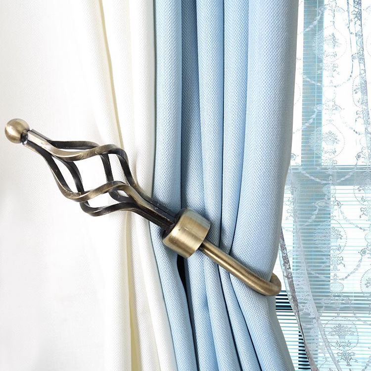 [해외]2018 뉴 U 스타일 커튼 타이 뒤 금속 Tieback 홀더 벽걸이 걸이 홈 장식/2018 New U Style Curtain Tie Back Metal Tieback Holders Wall Hooks Hanger Home Decor