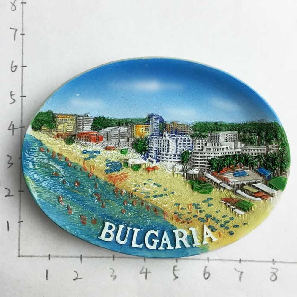 [해외]검은 바다 불가리아 관광 기념품 냉장고 자석 냉장고 자석 냉장고 자석 스티커 홈 장식 액세서리/Black Sea Bulgaria Tourism Souvenir Fridge Magnets Fridge Magnet Refrigerator Magnetic Sticke