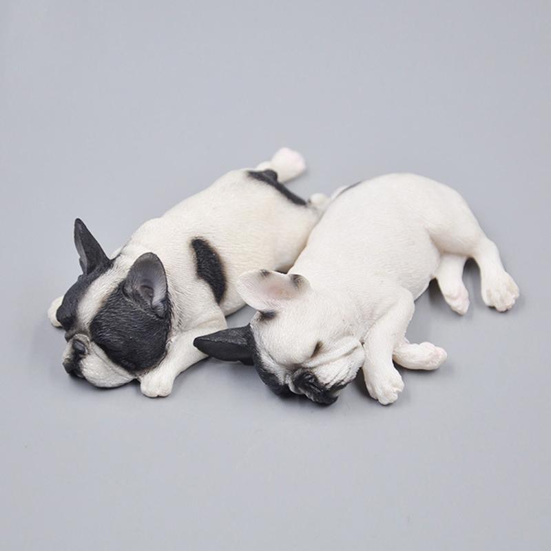 [해외]5.5cm 잠자는 동물 강아지 모델 장식 수지 불독 크롤링 자세 측면 가족 귀여운 자기 냉장고 자석/5.5cm Sleeping Animal Dog Model Decoration Resin Bulldog Crawling posture Side Family Cute