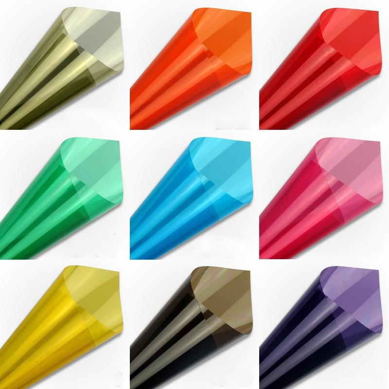 [해외]다채로운 태양 절연 장식 창 필름 스티커 태양 반사 양방향 거울 색상 자외선 반사 필름 접착제/Colorful Solar Insulation decorative Window Film Stickers Solar Reflective Two Way Mirror col