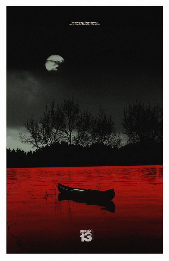 [해외]금요일 13 번째 공포 영화 영화 빈티지 레트로 크래프트 포스터 장식 DIY의 벽 스티커 홈 바 아트 포스터 장식 선물/Friday the 13th Horror Film Movie Vintage Retro Kraft Poster Decorative DIY Wal