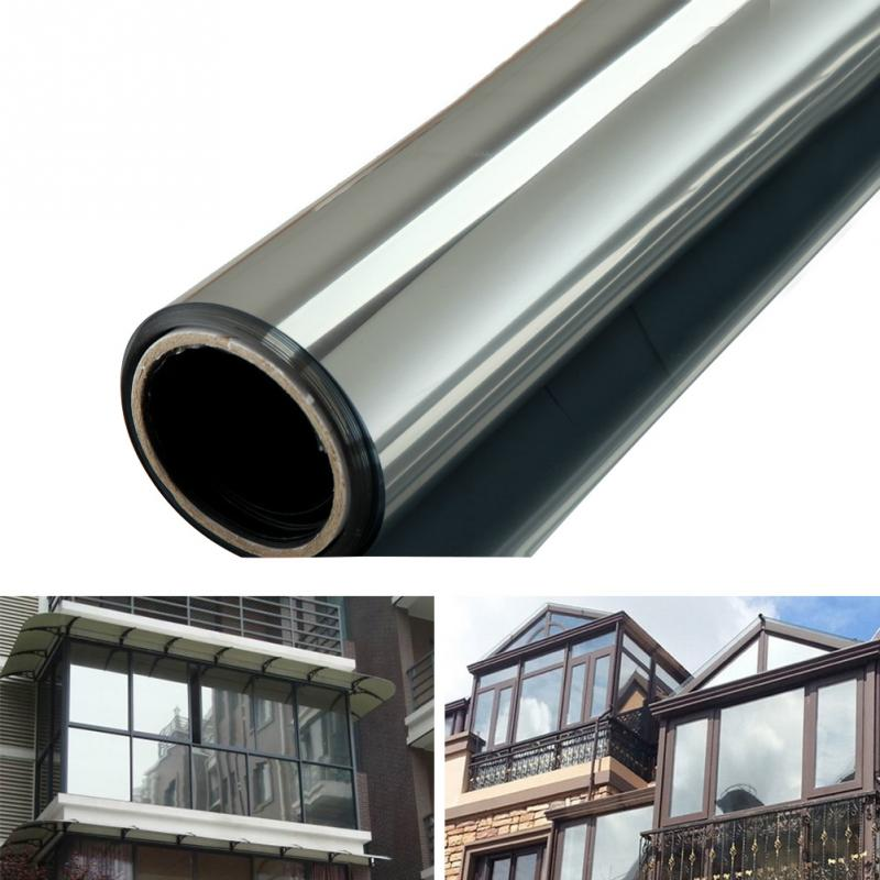 [해외]200 * 50CM 새 창 필름 편도 미러 실버 절연 스티커 UV 거부 개인 정보 보호 정책 Windom Tint Films 홈 인테리어/200*50CM New Window Film One Way Mirror Silver Insulation Stickers UV