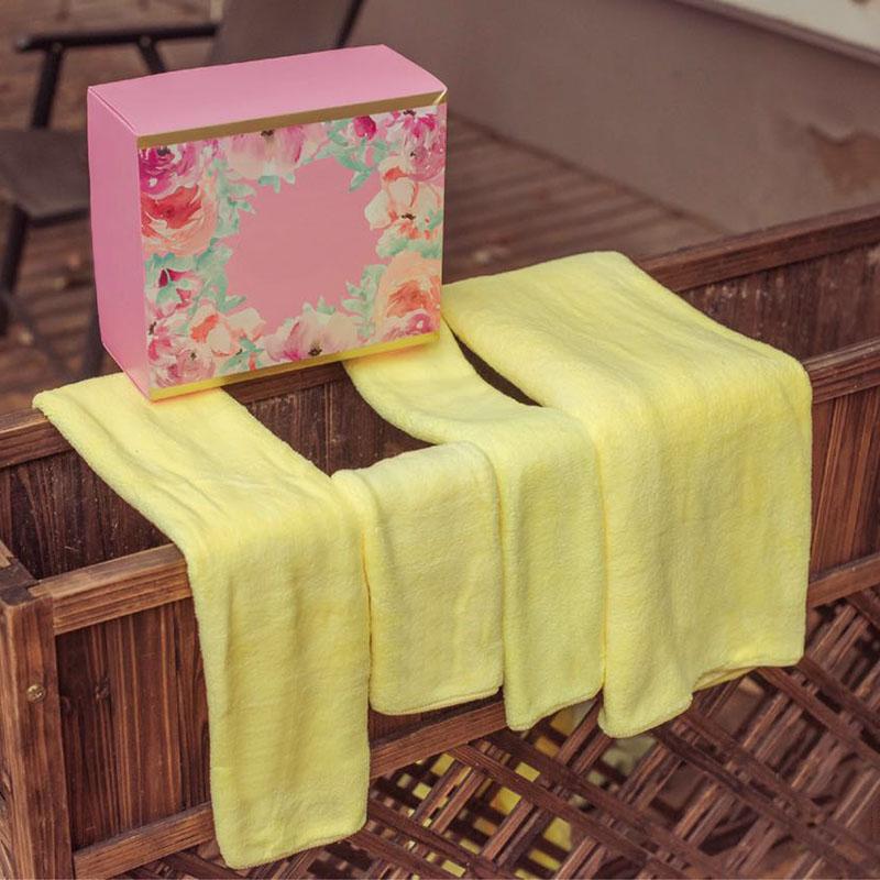 [해외]4pcs 수건 마이크로 화이버 패브릭 수건 세트 성인용 목욕을봉제 목욕 얼굴 손 수건 빠른 건조 타월 수퍼 흡수/4pcs Towel Microfiber Fabric Towel Set Plush Bath Face Hand Towel Quick Dry Towels