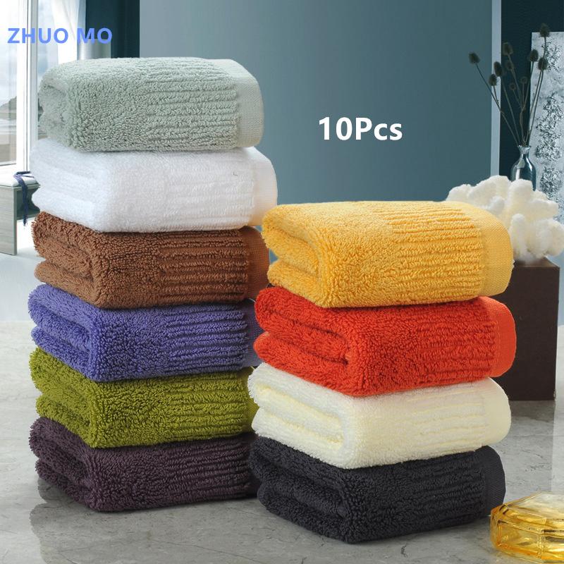 [해외]10pc / lot 높은 품질 100 % 코 튼 35 * 35cm 아이 타월 주방 욕실 핸드 타올 빠른 건조 홈 섬유 가구 항목/10pc/lot High quality 100% cotton 35*35cm Kids towel Kitchen bathroom Hand