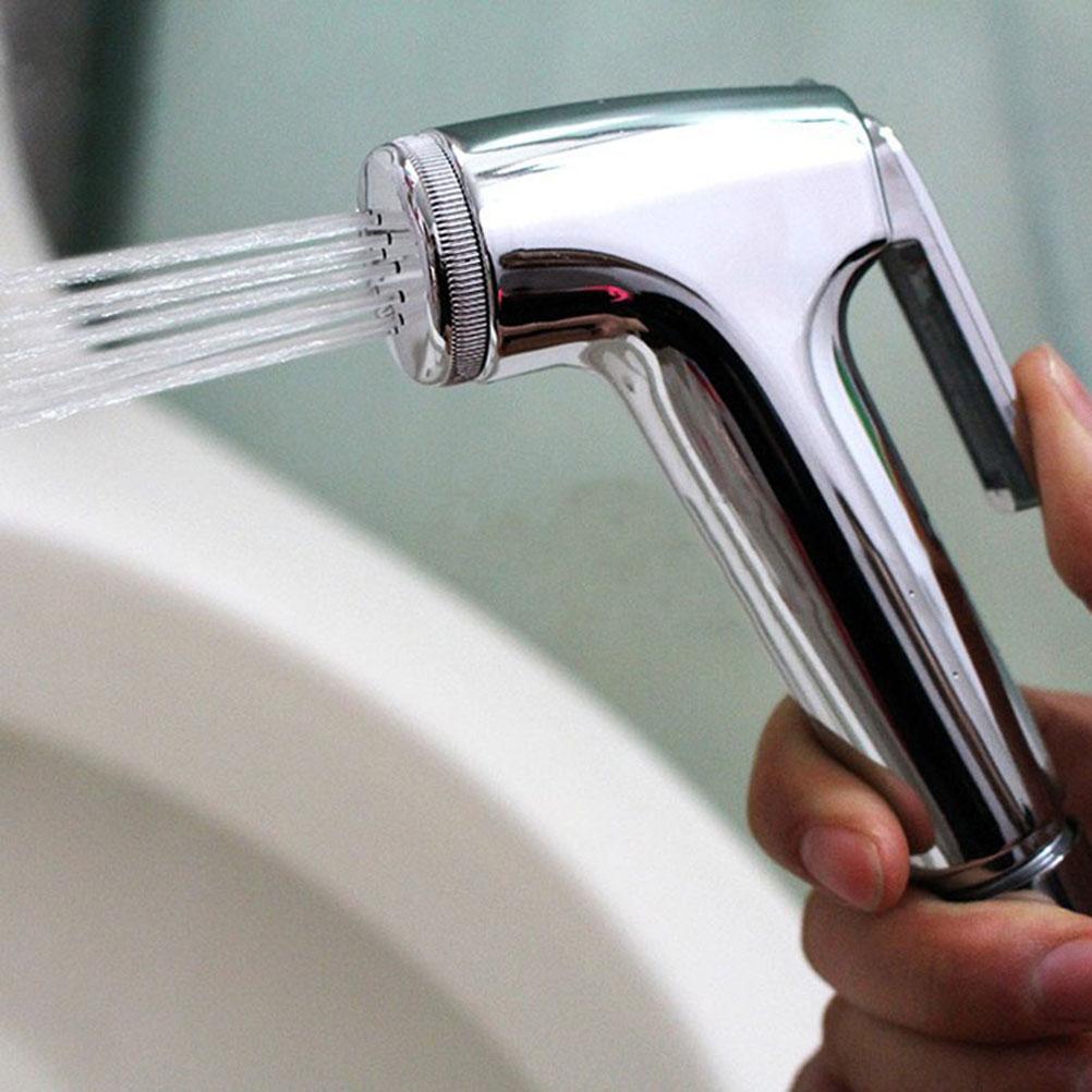 [해외]품질 핸드 헬드 비데 수도꼭지 화장실 핸드 헬드 비데 스프레이 샤워 헤드 스프레이 샴푸 크롬 밸브 욕실 비데 스프레이 어/Quality Handheld Bidet faucet Toilet Hand Held Bidet Spray Shower Head Douche