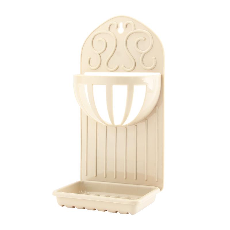[해외]장지 2 1 플라스틱 욕실 선반 스폰지 홀더 비누 접시 스토리지 랙 교수형 주최자 더블 레이어 비누 상자 ZJ069/Zhangji 2 in 1 Plastic Bathroom Shelves Sponge Holder Soap dish Storage Rack Hang