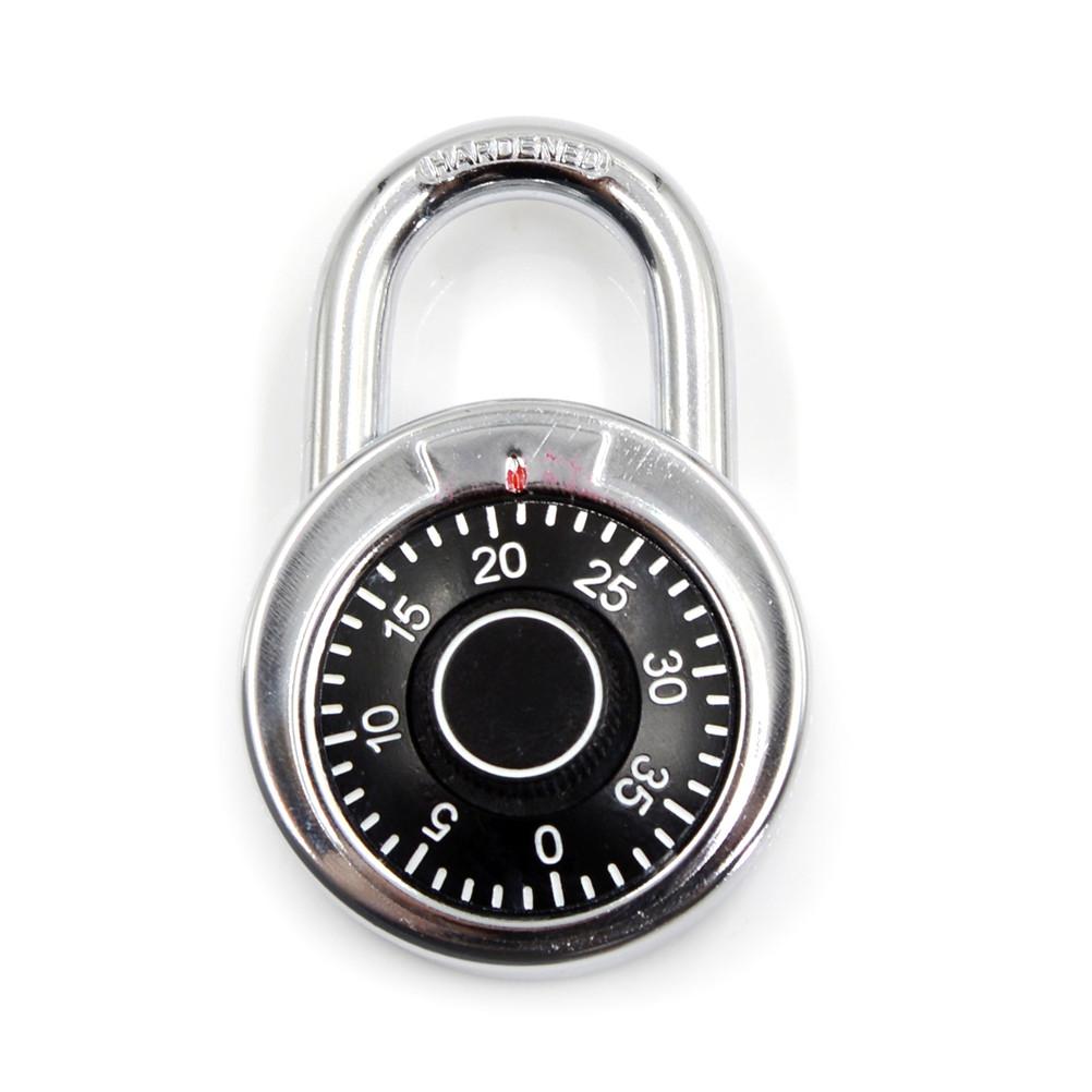 [해외]휴대용 체육관 학교 헬스 클럽 3 다이얼 조합 암호 자물쇠 방향 자물쇠 로커 서랍 캐비닛 도어 DIY 하드웨어/Portable Gym School Health Club 3-Dial Combination Password Padlock Directional Padl