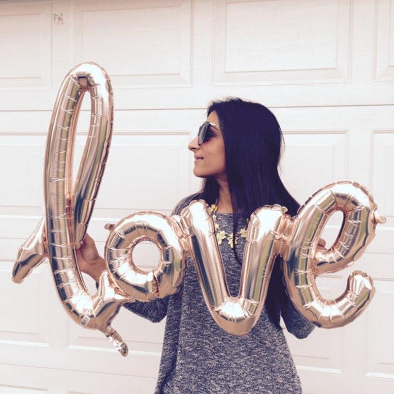 [해외]1 Pc 웨딩 장식 Mariage Foil 풍선 사랑 발렌타인 파티 풍선 볼 장난감 공기 풍선 크리스마스 풍선 2017 새로운/1 Pc Wedding Decoration Mariage Foil Balloons Love Valentine Party Inflatab
