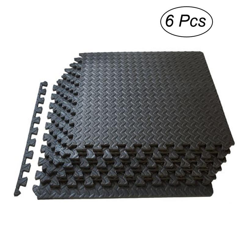 [해외]6pcs에 바 폼 타일 퍼즐 운동 매트 건강 및 피트 니스 운동을연동 타일 바닥 보호 쿠션/6pcs EVA Foam Tiles Puzzle Exercise Mat Health and Fitness Interlocking Tiles Floor Protective