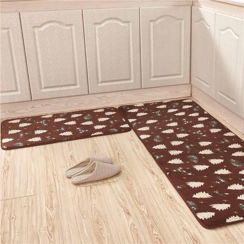 [해외]목욕 양탄자 세트 2pcs / sets 목욕탕 기억을 % s 반대로 미끄러짐 매트 거품 목욕 매트 목욕 액세서리 부엌 양탄자 바닥 매트 동물 패턴/Bath Rugs Set 2pcs/set Anti Slip Mat For Bathroom Memory Foam Ba