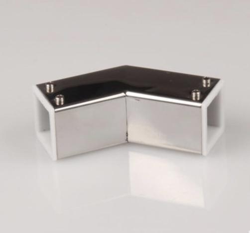 [해외](25mm 튜브) 304 스테인리스 스틸 사각 튜브로드 액세서리 욕실 사각 튜브 135도 커넥터/( 25mm tube )304 stainless steel square tube rod accessories Bathroom square tube 135 degree