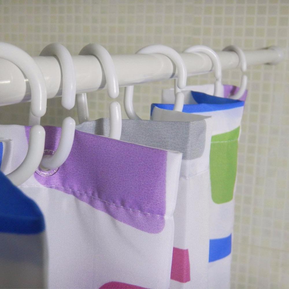 [해외]알루미늄 합금 개폐식 샤워 커튼 막대 스트레이트 욕실 Jackstay 창 커튼 막대 옷 건조 막대/Aluminium Alloy Retractable Shower Curtain Rod Straight Bathroom Jackstay Window Curtain Ro