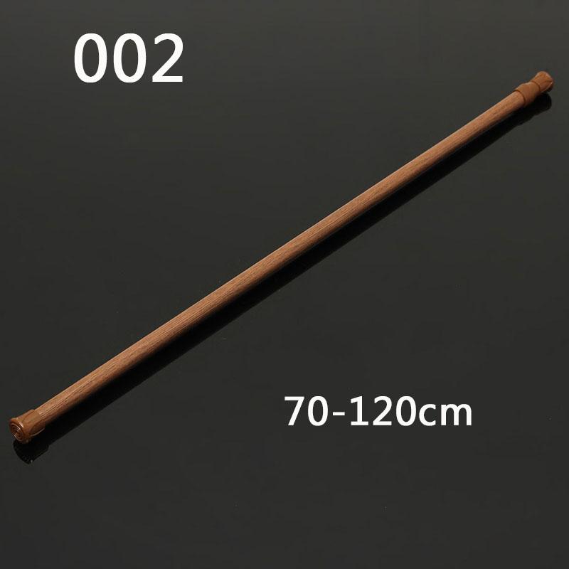 [해외]70-120cm 확장 가능한 텔레스코픽 샤워 커튼 레일로드/70-120cm Extendable Telescopic Shower Curtain Rail Rod