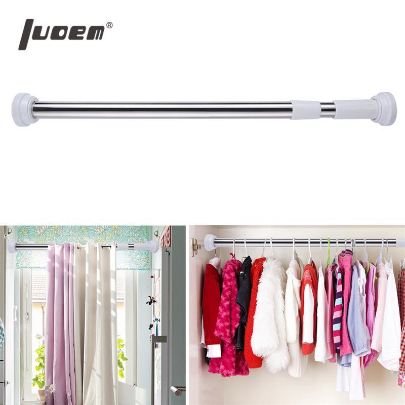 [해외]LUOEM 스테인레스 스틸 욕실 샤워 커튼 막대 조정 가능한 샤워 커튼 텐션로드/LUOEM Stainless Steel Bathroom Shower Curtain Rod Adjustable Shower Curtain Tension Rod