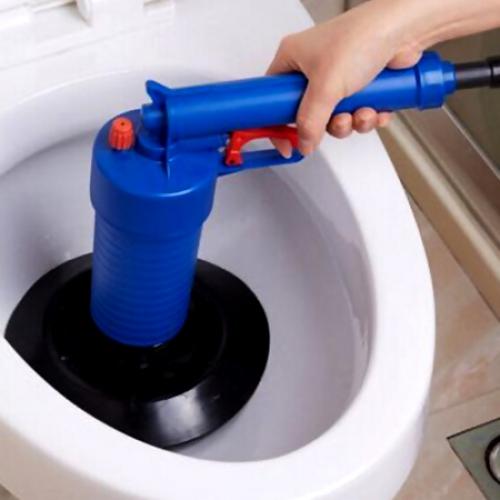 [해외]1에서 4 총 유형 주방 주방 파이프 화장실 드레인 클리너 도구 다기능 고압 드레인 Cleaner4 Suckers/4 in 1 Gun Type Bathroom Kitchen Pipe Toilet Drain Cleaner Tool Multifunctional Hi