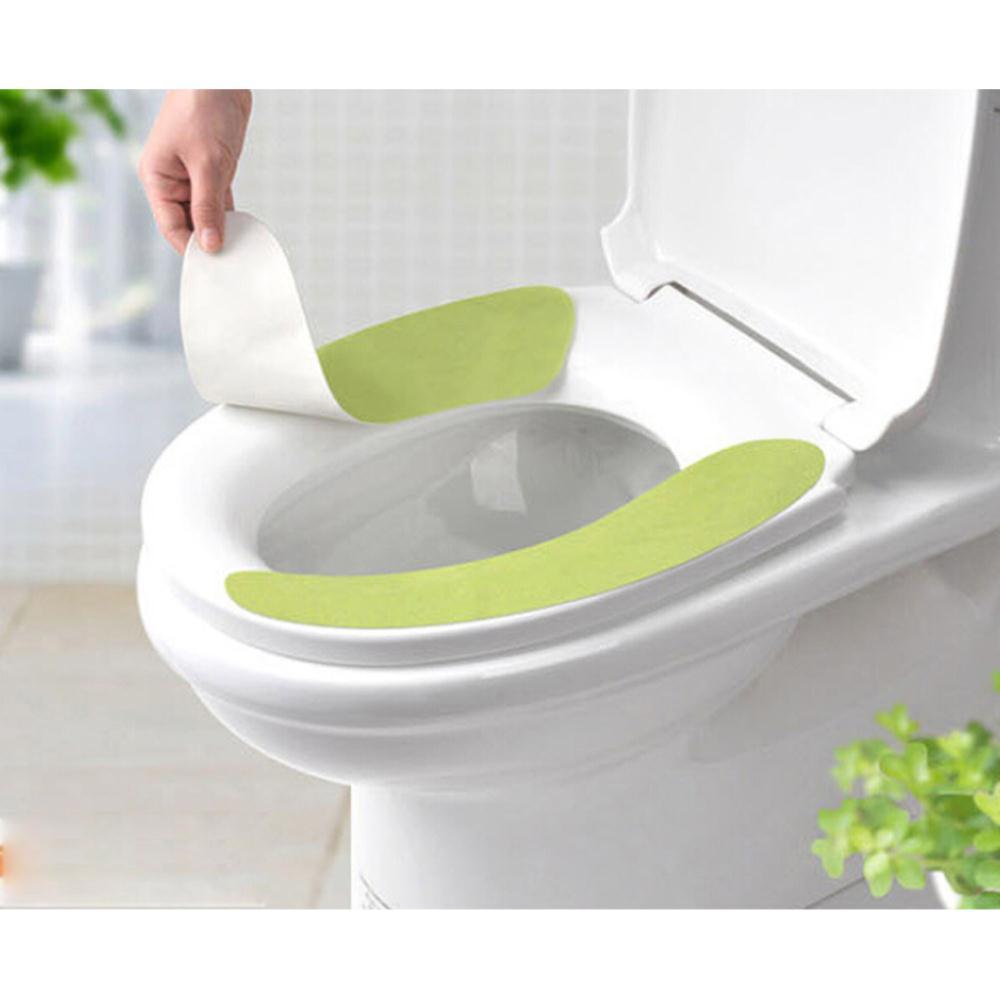 [해외]1 쌍 새로운 욕실 따뜻한 화장실 좌석 closestool 빨 수있는 부드러운 좌석 커버 패드 쿠션/1 pair new bathroom warmer toilet seats closestool washable soft seat cover pad cushion