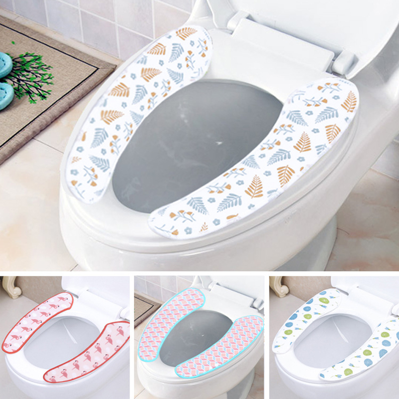 [해외]2016 새로운 변기 시트 가열 슈퍼 실용적인 붙여 넣기 변기 커버 캔디 컬러 두꺼운 베이지 룽 반복적으로 씻어 수 /2016 New Toilet Seat Heated Super Practical Paste Toilet Seat Cover Candy-colore