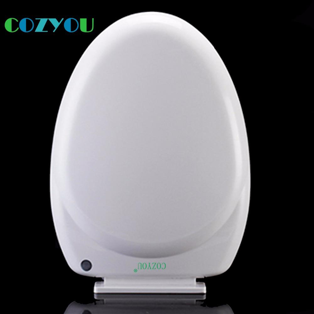 [해외]흰색 U 길다 소프트 닫힘 PP 변기 커버 퀵 릴리스 간편 청소 길이 452 ~ 499mm, 너비 348 ~ 368mm GBP17330PV/White U Elongated soft Close PP Toilet seat cover Quick Release Easy