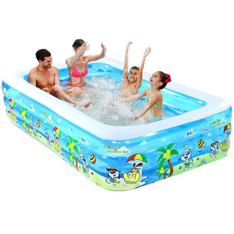 [해외]슈퍼 해양 욕조 짙어지면서 팽창 가족 큰 성인 수영 수영장/inflatable of super marine bathtub thickening family large adult swiming pool