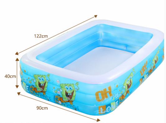 [해외]?어린이 풍선 수영장 홈 성인용 욕조에 대 한 큰 아기 운동장 짙게하는 바다 볼 장난감 풀/ Child Inflatable Pool Home Baby Oversized Playground Thickening Ocean Ball Toy Pool For Adult