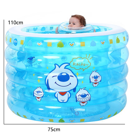 [해외]?유아 아기 풍선 풀 홈 더 두꺼운 어린이 수영 양동이 풀 Foldable 놀이 수영장 목욕 양동이/ Infant Baby Inflatable Pool Home Thicker Children Swimming Bucket Pool Foldable Play Pool