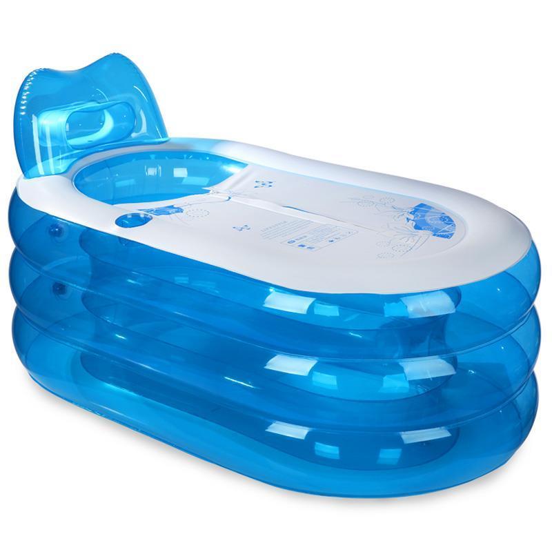 [해외]풍선 접이식 욕조 목욕 배럴 두꺼운 플라스틱 샤워 버킷/inflatable adult folding tub bath barrel thickened plastic shower bucket